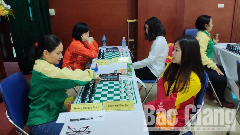 Bắc Giang, Vân Anh, môn cờ vua, vô địch.
