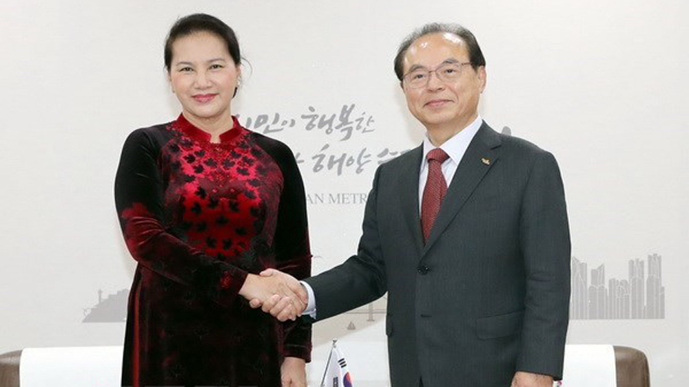 NA Chairwoman: RoK visit aims to boost strategic cooperative partnership