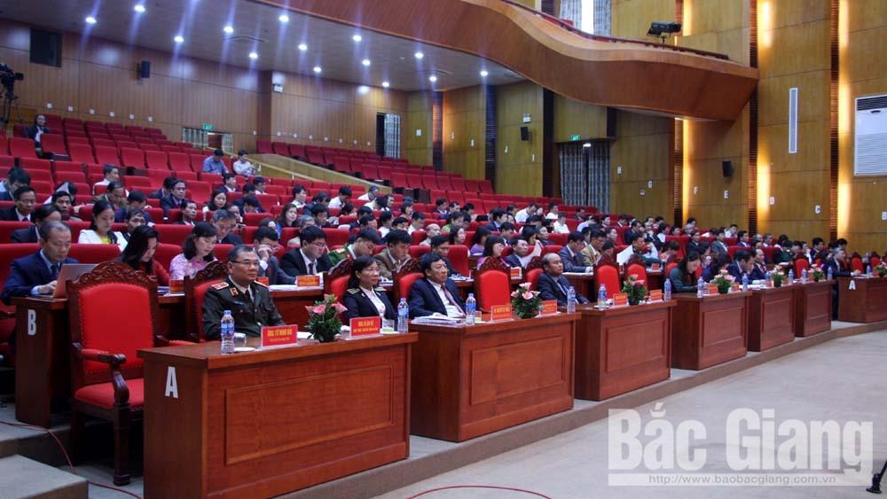 HĐND tỉnh Bắc Giang, kỳ họp thứ 6, khai mạc, chất vấn, trả lời chất vấn