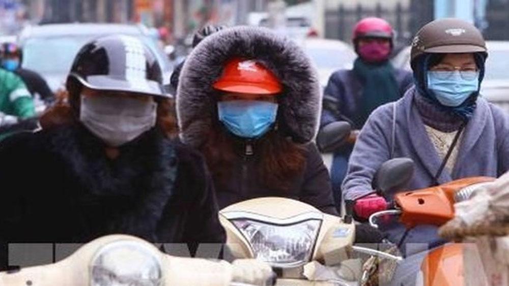 Từ đêm mai, không khí lạnh tràn về khiến nhiệt độ Bắc Bộ giảm cực sâu