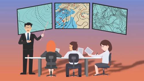 Quá trình dự báo thời tiết được thực hiện như thế nào?