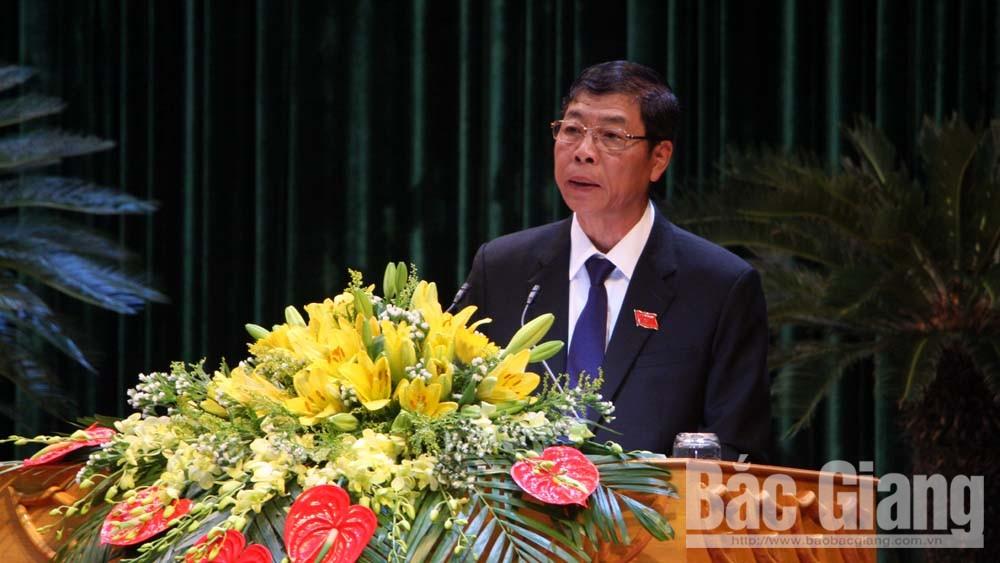 HĐND tỉnh Bắc Giang, kỳ họp thứ 6, khai mạc, tăng trưởng kinh tế, tỉnh Bắc Giang