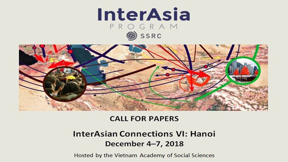 Conference, InterAsian connections, global development, international science communities, Asia-related issues, global relationship
