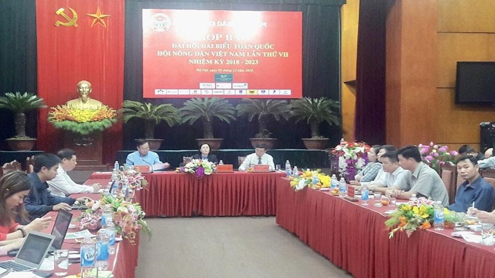 Dự kiến 999 đại biểu dự Đại hội đại biểu toàn quốc Hội Nông dân Việt Nam lần VII