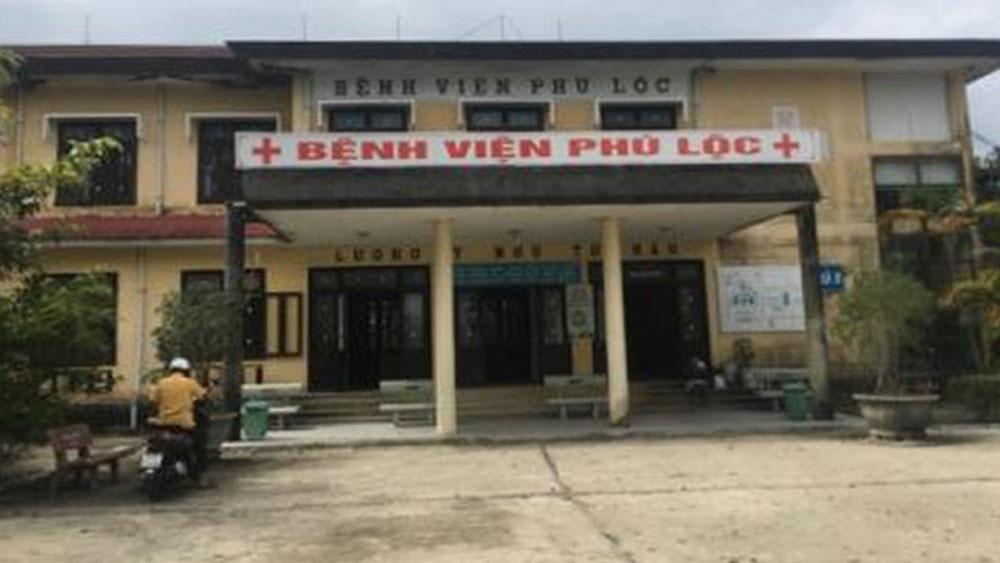 Bộ Y tế, yêu cầu, tử vong hai mẹ con sản phụ, Bệnh viện đa khoa Phú Lộc, Thừa Thiên-Huế