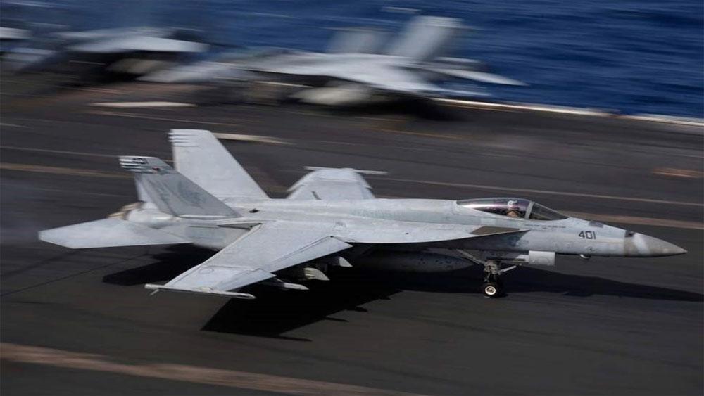 Hai máy bay hải quân Mỹ, đâm nhau, Nhật, 7 binh sĩ, mất tích