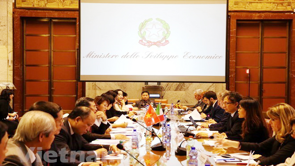 Vietnam, Italia seek effective economic cooperation