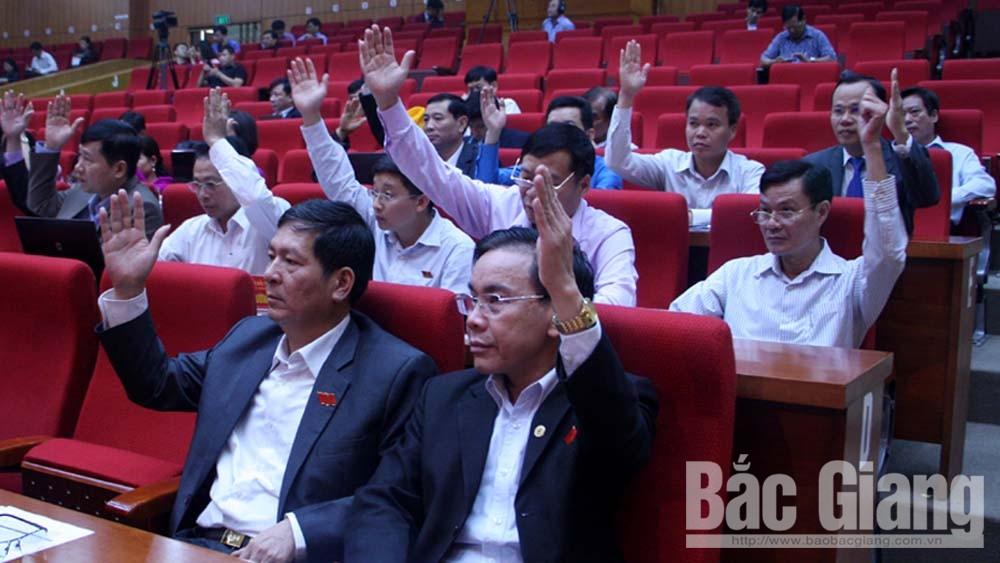 HĐND, kỳ họp thứ 6, Bùi Văn Hải, lấy phiếu tín nhiệm, bắc giang, tín nhiệm cao, HĐND tỉnh Bắc Giang