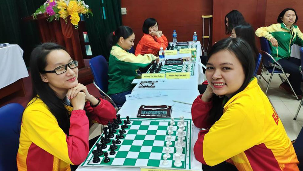 National Sports Festival 2018: Kim Phung and Mai Hung become blitz chess's champion