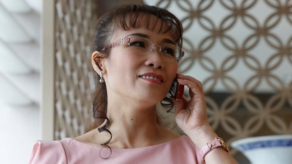 Vietjet CEO, Forbes list, World's Most Powerful Women, Nguyen Thi Phuong Thao, budget carrier Vietjet Air, richest woman, social media power, business leaders