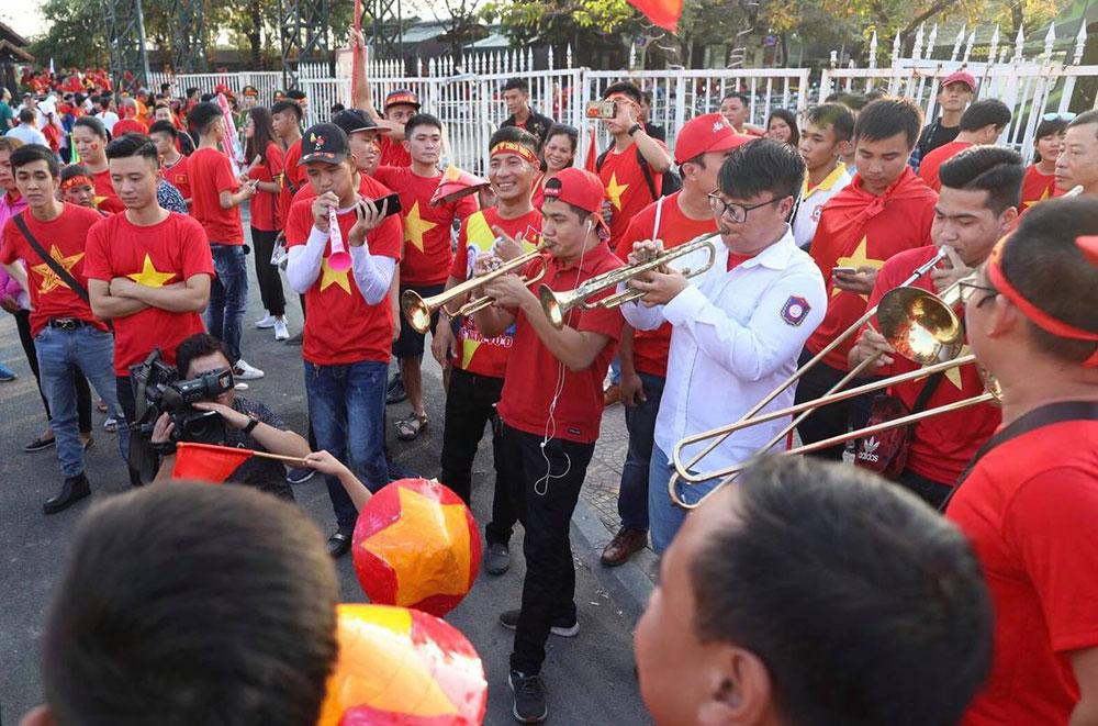 CĐV Việt Nam, sân Mỹ Đình, Việt Nam, Philippines, AFF Cup 2018