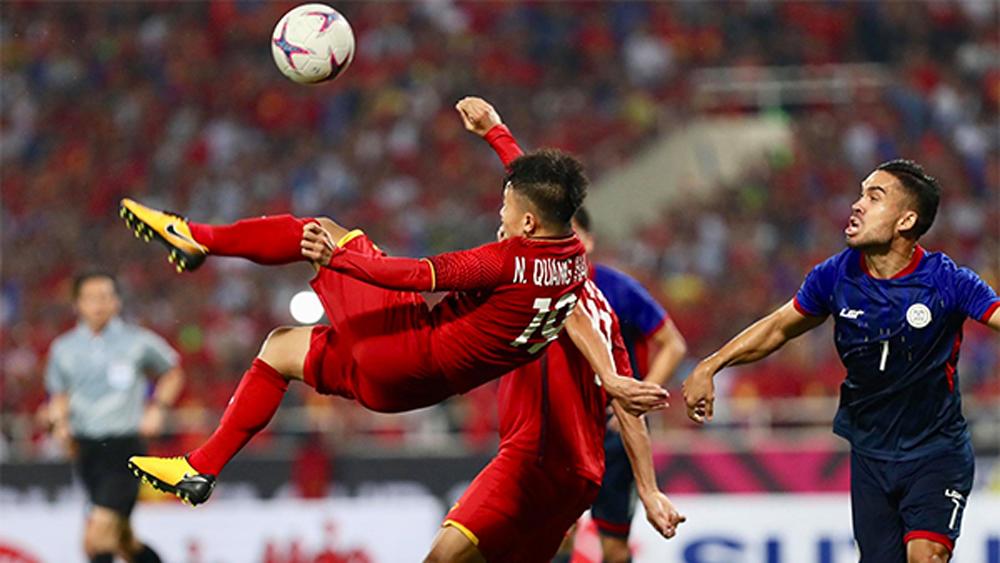 AFF Cup, Việt Nam, Philippines, trận đấu