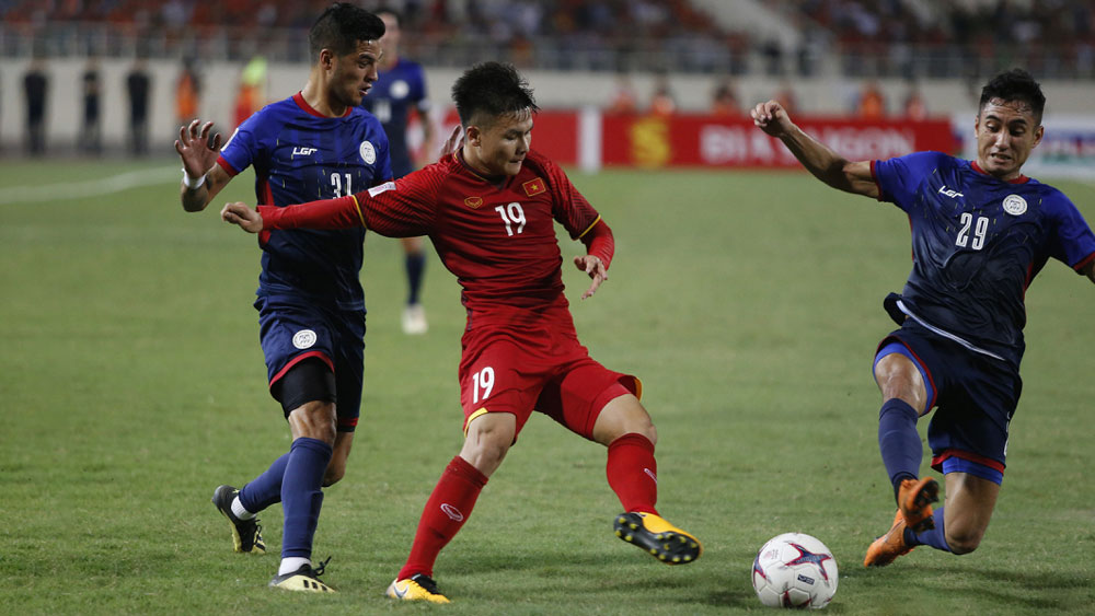 Đánh bại Philippines, tuyển Việt Nam vào chung kết AFF Cup 2018