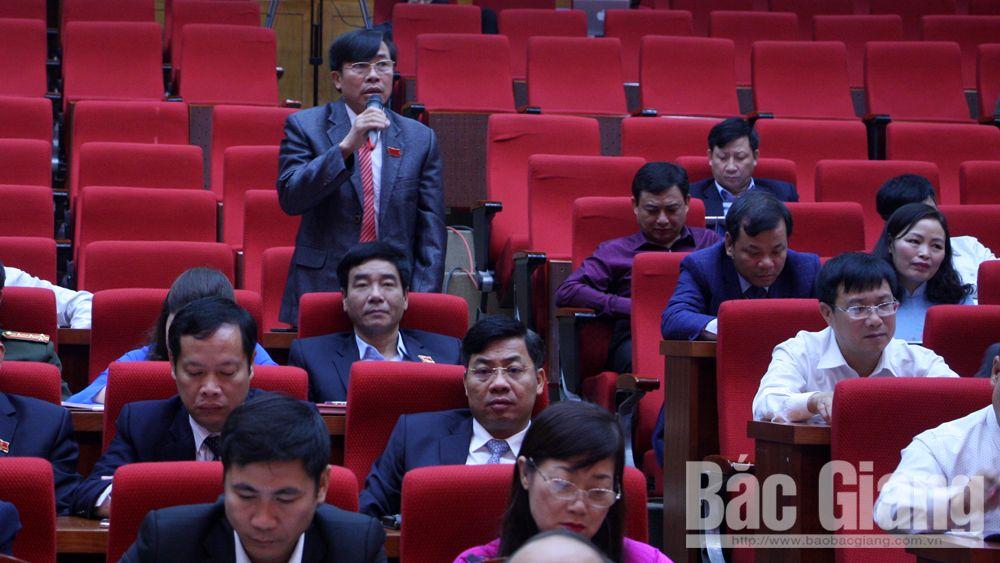 Ngày làm việc thứ ba, kỳ họp thứ 6, HĐND tỉnh Bắc Giang: Trả lời chất vấn thẳng thắn,  trọng tâm và rõ vấn đề