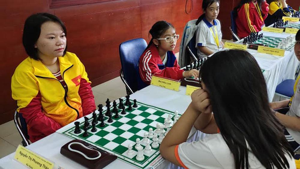 Bất ngờ có HCV cá nhân nữ cờ nhanh, Đoàn Thể thao Bắc Giang vươn lên thứ 17 tại Đại hội Thể thao toàn quốc