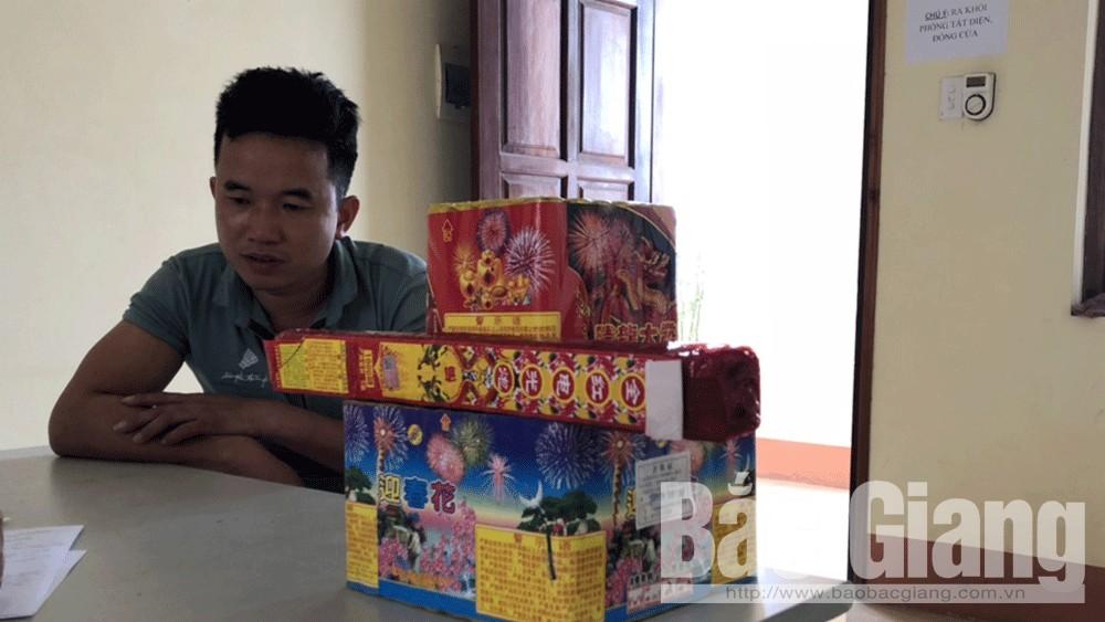 Vận chuyển trái phép pháo nổ từ Lạng Sơn về Hưng Yên