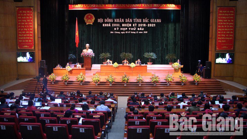 Bùi Văn Hải, bế mạc, kỳ họp thứ 6, HĐND tỉnh, khóa XVIII, khen thưởng