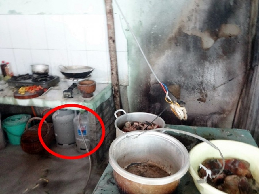 Rò rỉ khi ga, ga, cháy nhà, huyện Việt Yên, Cảnh sát phòng cháy chữa cháy, Công an tỉnh Bắc Giang