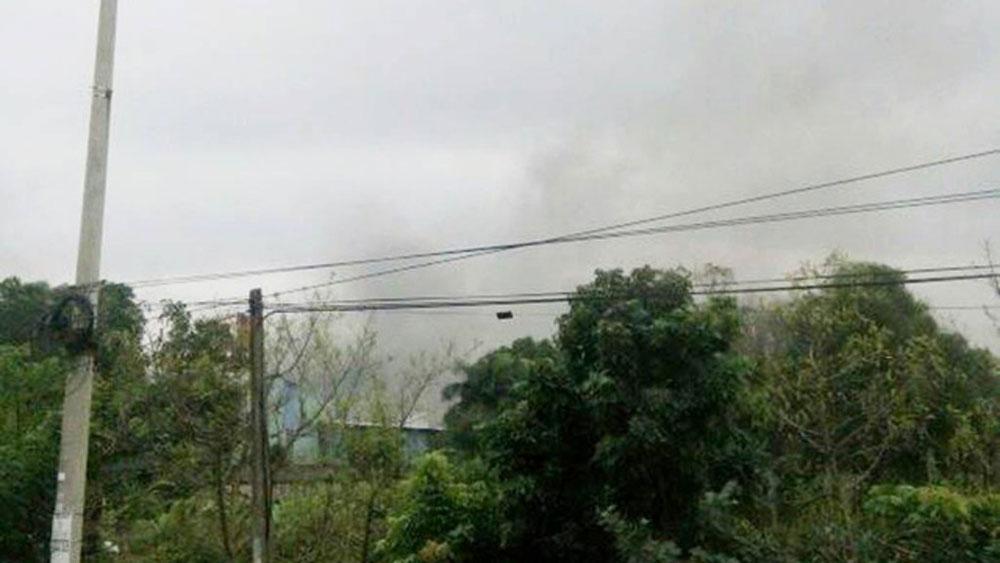 Nổ lớn tại Công ty cổ phần thép Cửu Long, 1 người chết, 10 người bị thương