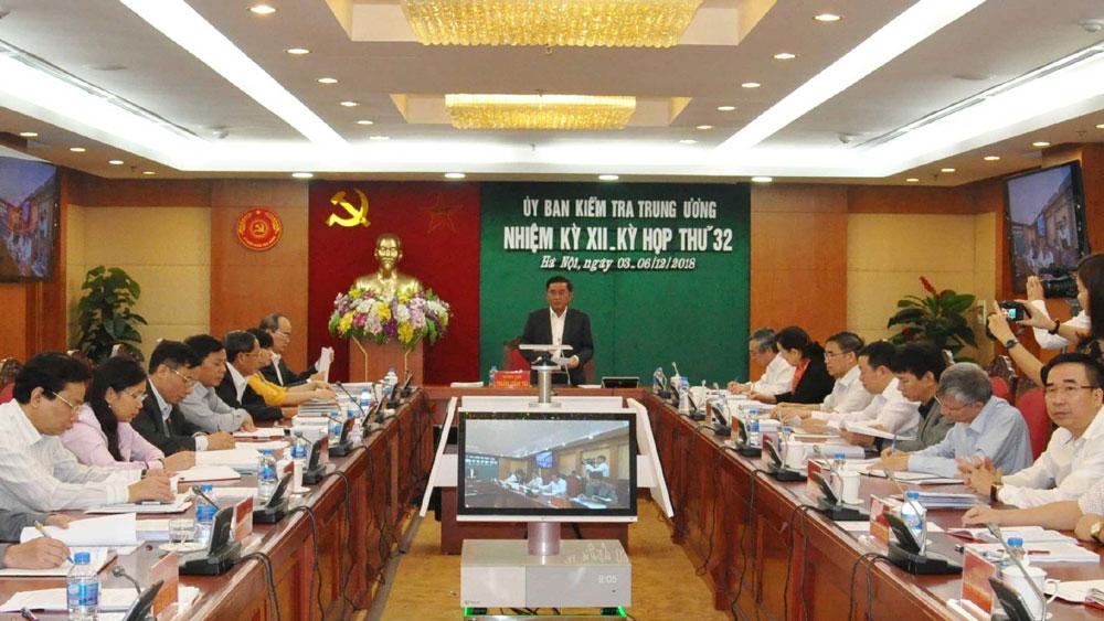 Ủy ban Kiểm tra Trung ương đề nghị thi hành kỷ luật ông Tất Thành Cang