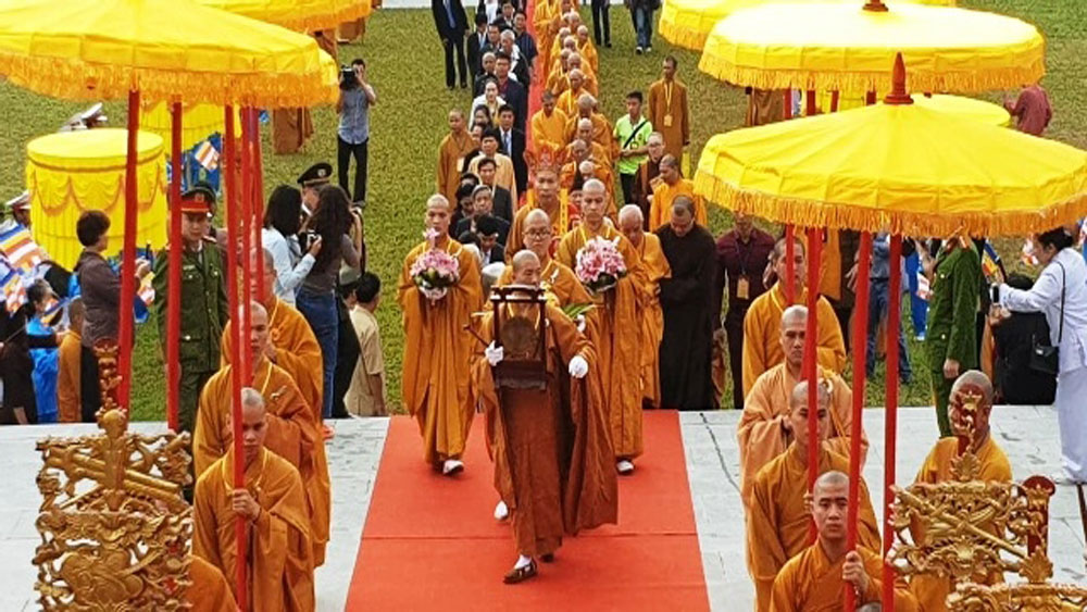 Yen Tu grand ceremony celebrates Emperor Tran Nhan Tong