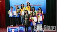 Cờ vua Bắc Giang kết thúc Đại hội thể thao toàn quốc với 3 HCV, 1 HCB, 1 HCĐ