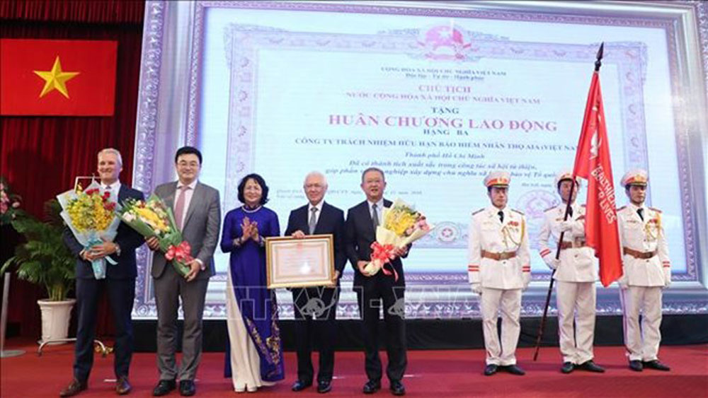 National Fund, Vietnamese Children, AIA, Vietnam Life Insurance Company Limited, Ho Chi Minh City, Life Journey, Vice State President Dang Thi Ngoc Thinh, Vietnam