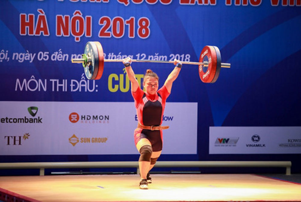 National Games, Hanoi, top spot, more gold medals, ongoing 2018 National Games, additional gold medals, provisional standings, Ho Chi Minh City, Army team