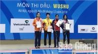 Võ sĩ Nguyễn Thị Thu Thủy giành HCV trong ngày thi đấu cuối của Đại hội Thể thao toàn quốc