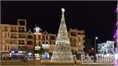 """Xây dựng cây thông Nô-en """"khủng"""" tại Quảng trường 3-2"""