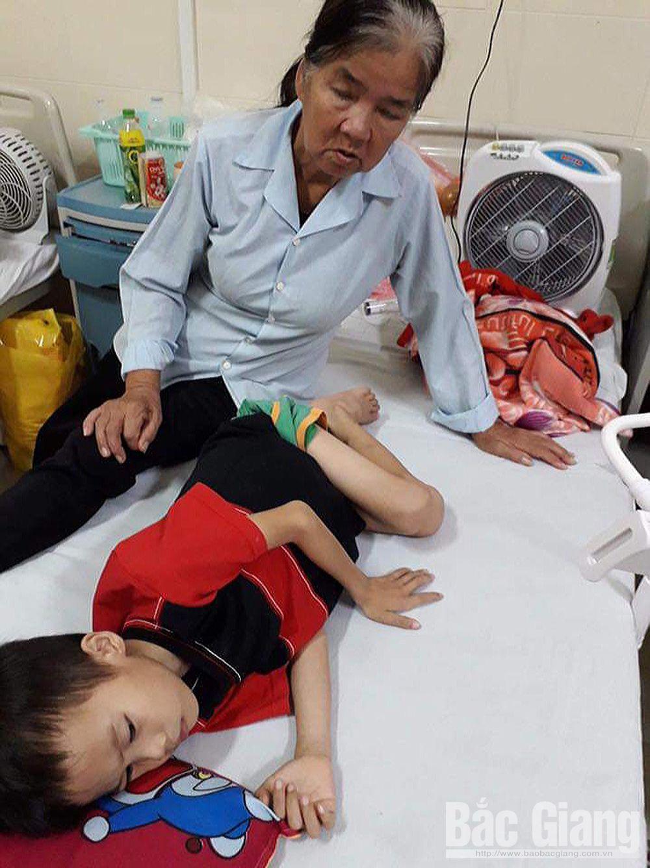 Bé Tạ Xuân Thao (5 tuổi), thôn Huê Vận 1, xã Bảo Sơn, huyện Lục Nam, Bắc Giang, từ thiện, nhân đạo, bệnh hiểm nghèo