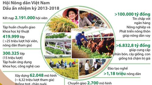 Nông dân Việt Nam thi đua xây dựng nông thôn mới