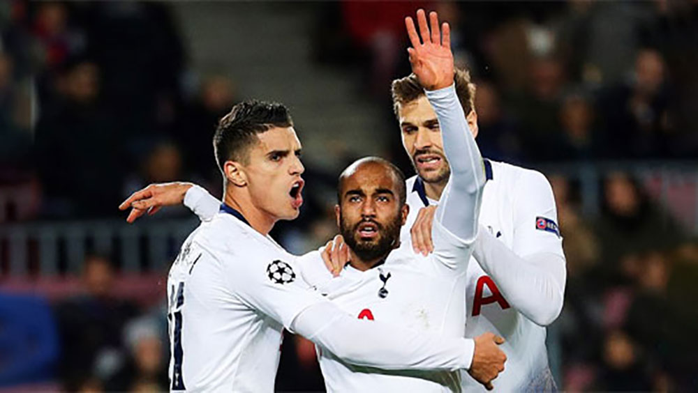 Tottenham lách qua khe cửa hẹp ở Champions League