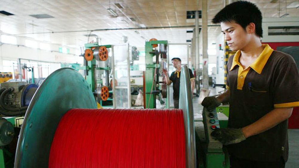Export of electric wire, cable surges