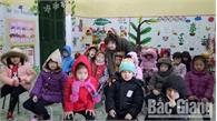 Giá rét, hơn 4 nghìn học sinh huyện Sơn Động nghỉ học