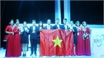 Vietnamese students win high prizes at Int'l Junior Science Olympiad