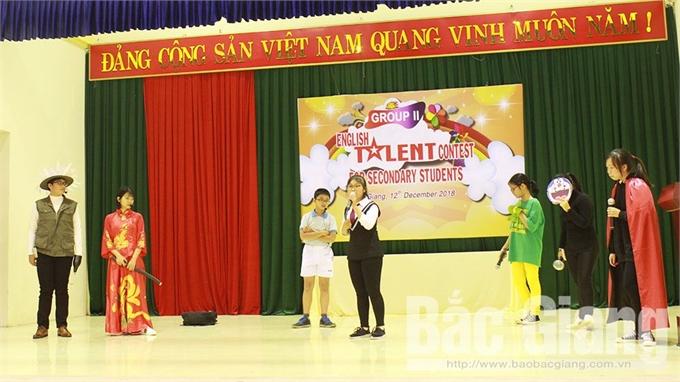 TP Bắc Giang tổ chức điểm hội thi Tài năng tiếng Anh