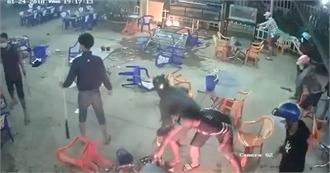 Mâu thuẫn trong quán ăn, hai nhóm thanh niên ở Bắc Giang đánh nhau phải nhập viện