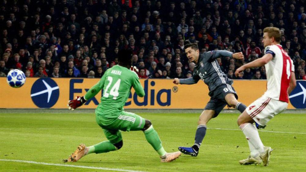 """Muller nhận thẻ đỏ, Bayern bị Ajax cầm hòa trong trận cầu """"điên rồ"""""""