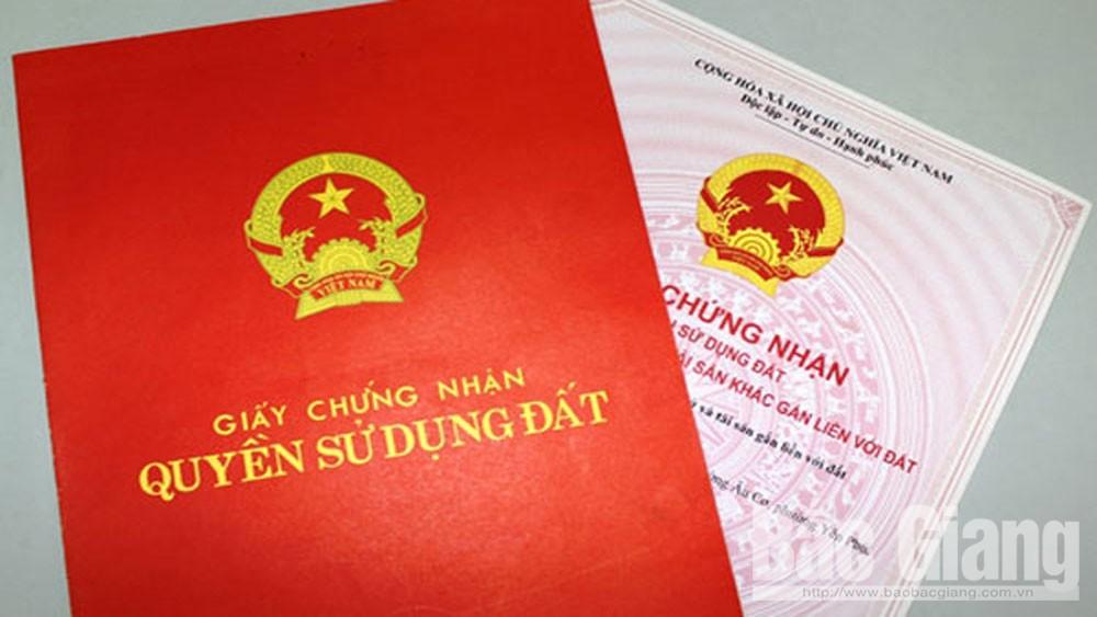 Thành phố Bắc Giang: Cấp giấy chứng nhận quyền sử dụng đất đạt 168% kế hoạch