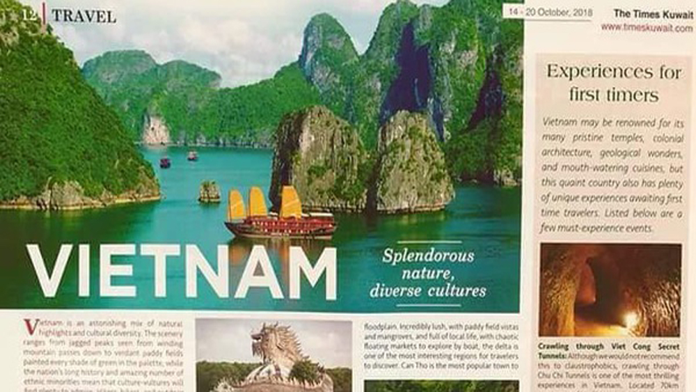 Vietnam's tourism promoted in Kuwait