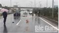 Trích xuất camera, truy tìm lái xe gây tai nạn bỏ chạy trên cao tốc Hà Nội - Bắc Giang
