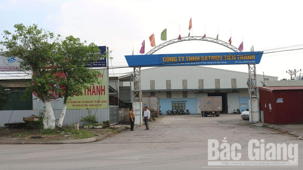 Ngân hàng, doanh nghiệp, thu hồi nợ, Bắc Giang, nợ xấu, Đỗ Thành Nam