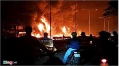 Vụ cháy xe bồn khiến 6 người thiệt mạng tại Bình Phước: Thiệt hại tài sản trên 10 tỷ đồng
