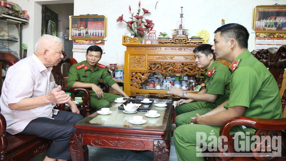 an ninh trật tự, cảnh sát khu vực, công an, TP Bắc Giang,