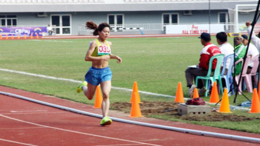 ASEAN University Games, Myanmar Runner, Pham Thi Hue, track-and-field events, Vietnamese athletes, gold medals