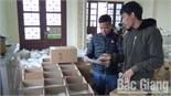 Làng nghề bánh đa nem Thổ Hà hối hả đón Tết