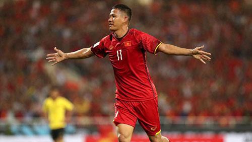 Đội hình ra sân Việt Nam-Malaysia: Anh Đức thay Đức Chinh?