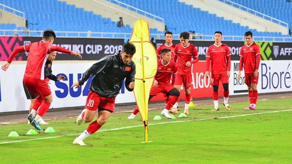 Vietnam ready to field strongest squad against Malaysia in AFF Cup final