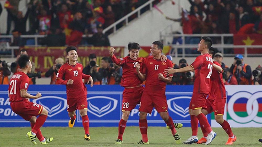 Chung kết lượt về AFF Cup 2018 (hiệp1): Anh Đức mở tỷ số cho Việt Nam